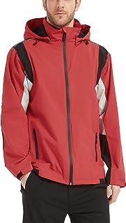 アラシヤマ レインウェア メンズ レインコート ゴルフ レインウェア マウンテンパーカーアウトドア ジャケット 透湿 防水 防風 軽量
