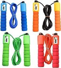 Abaodam 4 Stks Elektronische Tellen Springtouw Springtouw Fitness Workout Gewichtslager Sport Accessoires voor Gym Trainin...