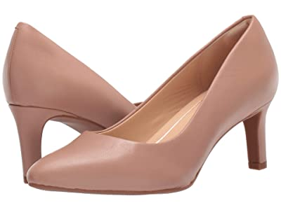 Clarks Calla Rose (Praline Leather) High Heels
