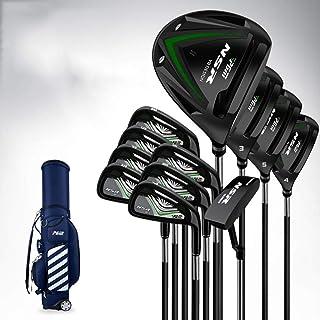 12-delige heren complete golfclub pakket set, stalen golfclub set super hoge rebound, gemakkelijk te raken golfclub