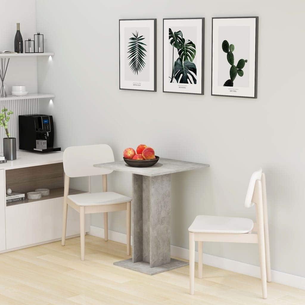 Bistro Table Concrete Chipboard Gray Max 61% Max 65% OFF OFF 23.6