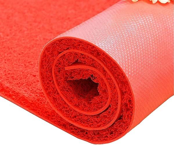 DD DD Rugs For Kitchen Floor Red Carpet Runner Rubber Carpet Runner Pad Non Slip For Garage Bathroom Outdoor Multiple Colour 1m2m3m4m5m Color Red Size 180x500cm