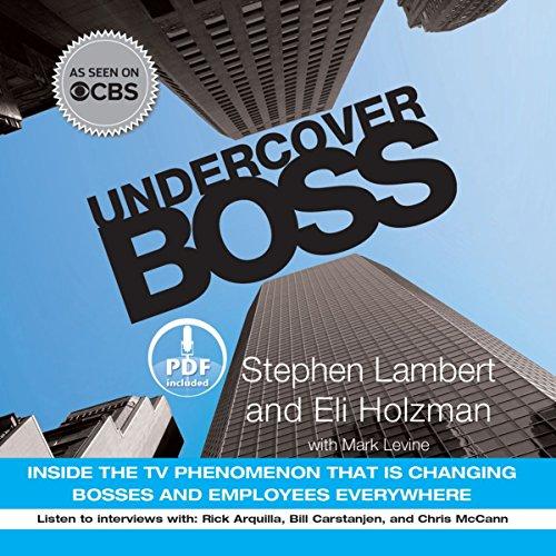 Undercover Boss audiobook cover art