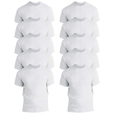 Gildan Men's 10-Pack Heavy Cotton Adult T-Shirt (G5000)