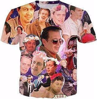 Men's Adult T-Shirt Deja Entendu Astronaut Design Sport Tee Tops