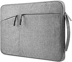 HzYisida Zipper Canvas Carrying Case Sleeve for Apple iPad 9.7 2018/Chuwi Hi9 Air 4G LTE 10.1/Lenovo Moto Tab 10.1/Tab 4 10 Plus 10.1/Acer Iconia Tab 10/Teclast Master T10 10.1 (Black)