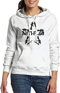 Anti Flag Star Shaped Some Broken Guns Around Women's Fashion Hoodies Sweatshirts With Pocket