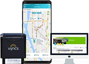 GPS Tracker VyncsMo, 3G Car GPS Tracking, 24/7 Roadside Emergency Assistance, Location Tracker, OBD GPS Tracker for Vehicles, Works in 177 Countries