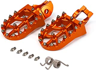 CNC MX Foot Pegs Footpegs Rest Pedals - 2016-2017 125-500 SXF EXCF XCF XCW