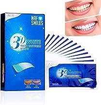 NAF Smiles Teeth Whitening Strips, Bleaching Strips, Non-
