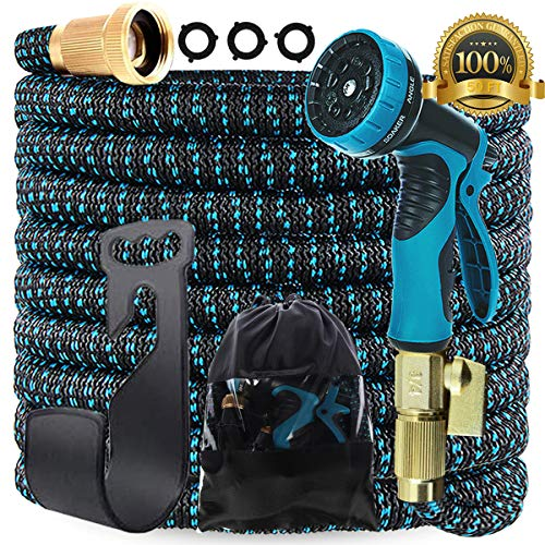 Gardguard 50ft Expandable Garden Hose: Water Hose with 9 Function...