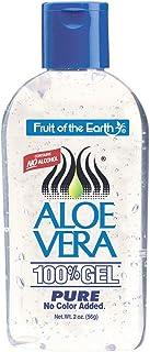 Fruit of the Earth Aloe Vera Gel, 2 oz (56 g) (Bundle of 6)