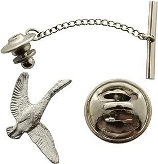 Sarah's Treats & Treasures Canada Goose Tie Tack ~ Antiqued Pewter ~ Tie Tack or Pin