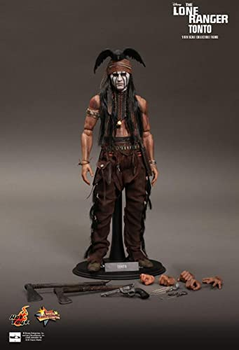 Hot Toys MMS217 - The Lone Ranger - Tonto - 1 6 Officiel