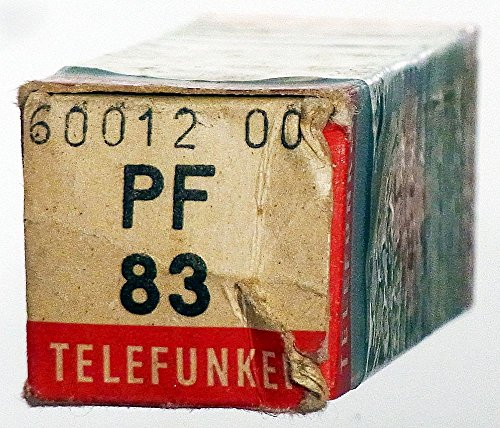 TV-Röhre PF83 Telefunken m. Raute ID1395