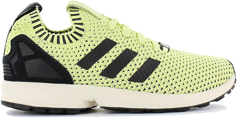 Adidas Originals ZX Flux PK Primeknit Herren Schuhe Schuhe Gelb-Schwarz Turnschuhe Freizeit Turnschuhe  online zu verkaufen