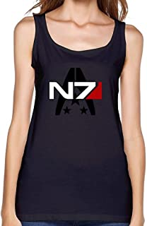 Women's Mass Effect Alliance N7 Special Forces Insignia Tank top