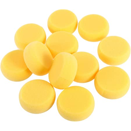 12pcs Round Synthetic Artist Paint Sponge Craft Sponges for Painting Pottery WH