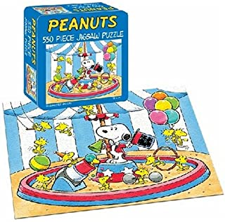 USAopoly Peanuts Ring Master 550 Piece Jigsaw Puzzle