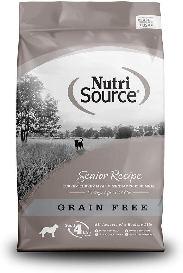 Nutrisource Grain Free ( Turkey ) Senior Dog Food 5Lb