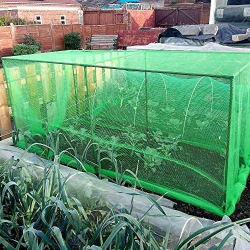 Fruit and Vegetable Protective Cage Supplied with Green Butterfly Netting (2.4m Long)
