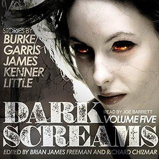 Dark Screams, Volume Five audiobook cover art