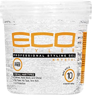 ECOCO Krystal Styling Gel, 16 Ounce/ 473 ml