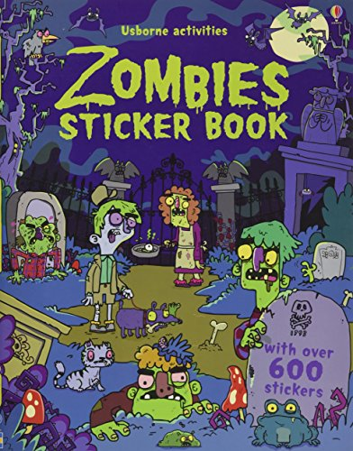 Zombies Sticker Book: With over 600 stickers (Sticker Books)