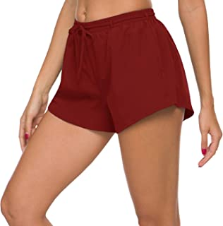 ChinFun Women's 2 in 1 Running Shorts Quick Dry Double Layer Workout Jogging Shorts with Pockets