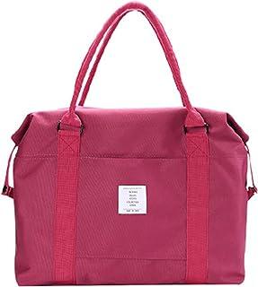 XQXM - Borsa da viaggio pieghevole unisex, grande capacità, portatile, borsa da viaggio per imbarco (colore: D)