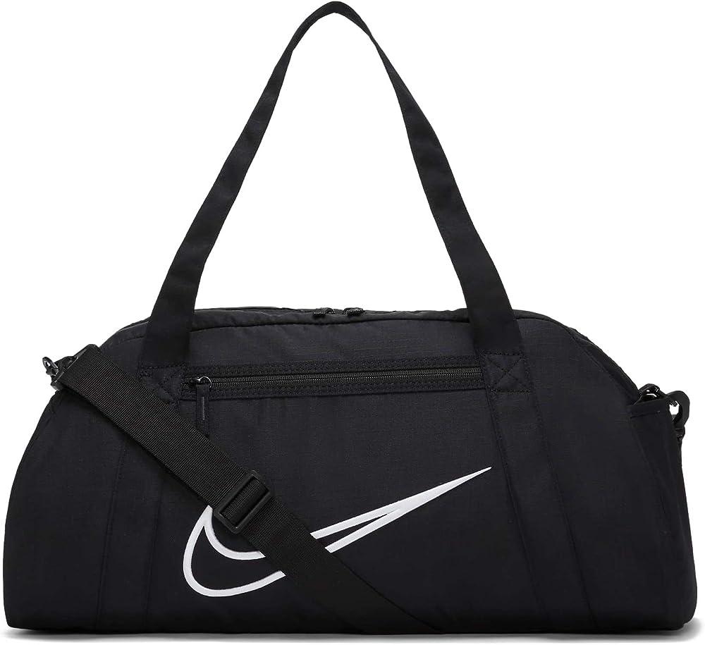 Nike w nk gym club - 2.0 borsa sportiva per donna in nylon black