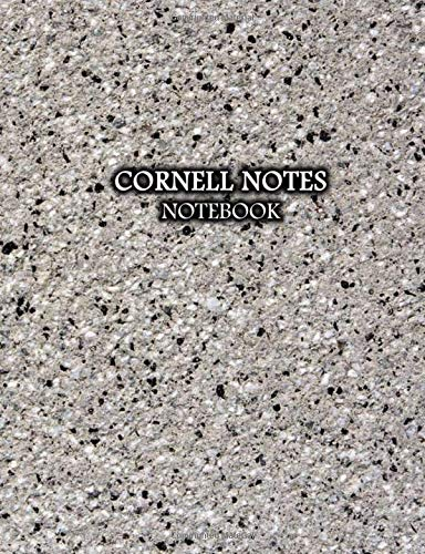 Cornell Notes Notebook: Marble Taking System College Ruled Lined Paper Journal with Recall and Note Column For Organizing and Formatting Study Note For School and University | Construction Print