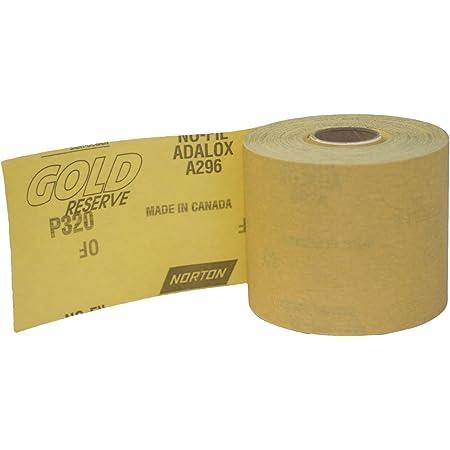 20 Yards Kassteel 23-204-600 PSA with Liner 600 Grit Aluminum OxideSticky-Back Rolls