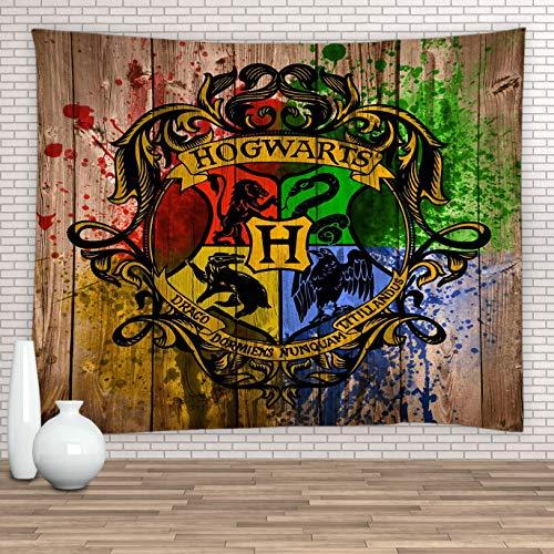 Feierman Tapiz para Pared mágico de Harry Potter, decoración para el Dormitorio de los niños, 100% poliéster