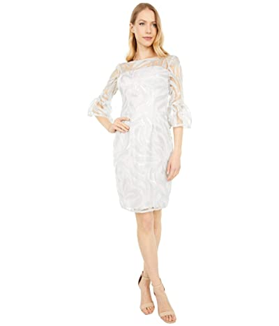 Adrianna Papell Sequin Embroidered Sheath Women