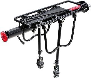 TOOGOO Transportin trasero de la bicicleta en rack -Negro: Amazon ...