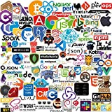 ZAYALI 100 PCS New Version DEV Stickers of Front-end dev,Back-end Languages for Developers, Coders, Programmers, Hackers, Geeks, and Engineers