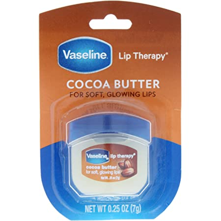Vaseline Lip Therapy, Cocoa Butter 0.25 oz