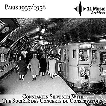 Constantin Silvestri with the Société des Concerts du Conservatoire (Paris 1957-1958)
