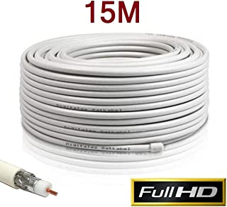 Amazon.es: Rg6u Coaxial Cable