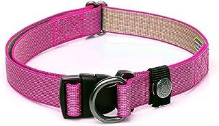 Sleepypod Locking Martingale Collar (Medium, Pink Peony)