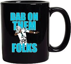 Dab On Them Folks Football Sports Dance Touchdown DT Coffee 11 Oz Black Mug