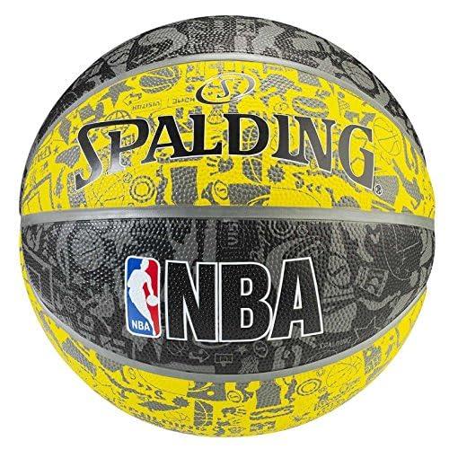 Spalding Graffiti Ballon de Basket Mixte
