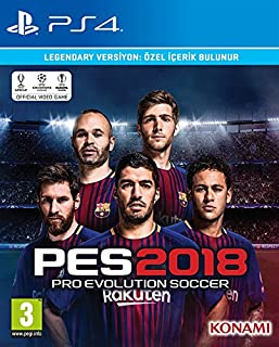 Konami Pes 2018 Legendary Edition [Playstation 4]