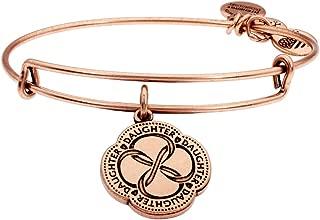 Alex and Ani Daughter's Love Rose Gold Expandable Bracelet A18SETIC02RAR