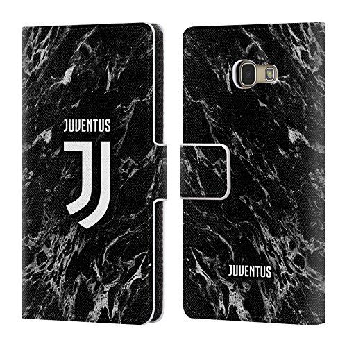 Head Case Designs Ufficiale Juventus Football Club Nero 2017/18 Marmoreo Cover in Pelle a Portafoglio Compatibile con Samsung Galaxy A5 (2017)