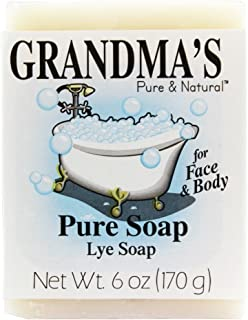 Remwood 60018 Grandma's Lye Soap 6 Oz