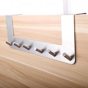 37x6x5 cm Bianco Ikea Enudden Attaccapanni per Porta