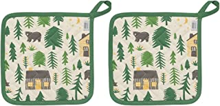 Now Designs 505897aa Potholders, Set of Two, Wild and Free, 2 Piece