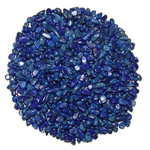 Lapislazuli 250 g mini Trommelsteine Edelsteine Größe ca. 4-8 mm sehr schöne Farbe